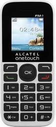 Alcatel  OT 1016D White