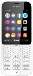 Nokia 222 DS White